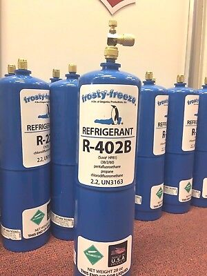 R402B, HP81, 28 oz. Refrigerant, Coolers & Freezers, R502 Replacement R-502 Alt.