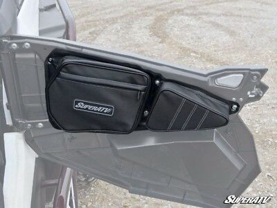 SuperATV Driver Side Door Bag for  Polaris RZR 900 / 1000 / XP Turbo / 4 / S