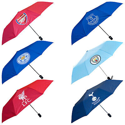 Premier Licensing Mini Automatic Compact Umbrella Official Football Club Golf