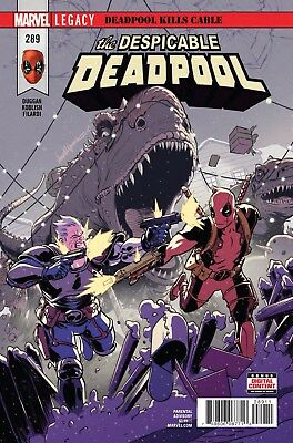 Despicable Deadpool #289 Lopez Duggan Koblish Marvel Legacy Comic Book NM 1f bc