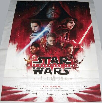 STAR WARS : THE LAST JEDi  Daisy Ridley John Boyega  LARGE French POSTER final