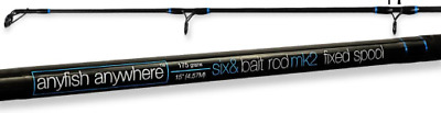 Anyfish Anywhere Six & Bait 15ft Fixed Spool Beach Casting Rod