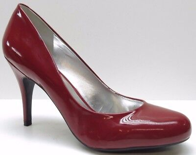 d25b289562e JESSICA SIMPSON RED Patent Leather Dress Pumps Heels 9.5B 9.5 MSRP $99