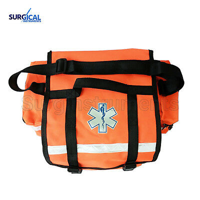 Small EMT Medic First Responder Trauma EMS Jump Bag with Dividers