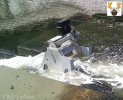 Hydroelectric Turbine High Efficiency for Shallow River,  Stream,  Industrial