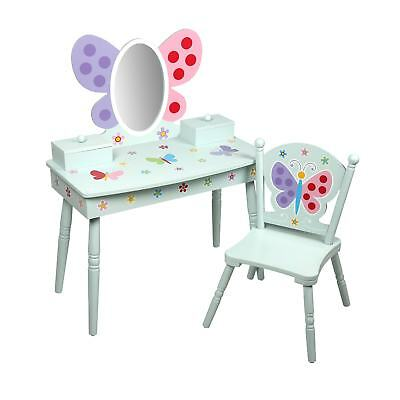Olive Kids Butterfly Garden Vanity Set with Chair