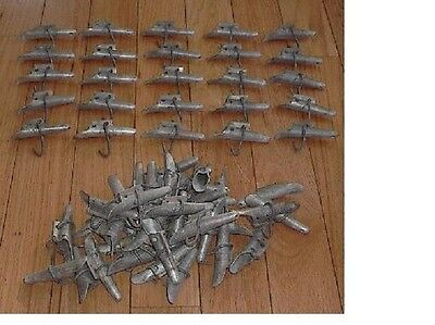 Lot of 50 Maple Syrup Aluminium  Sap Bucket SPOUTS TAPS SPILES READY TO USE