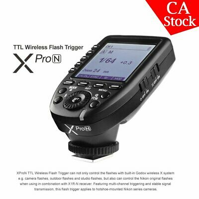 Godox XPro-N 2.4G TTL Wireless Transmitter X System High-speed For Nikon Camera
