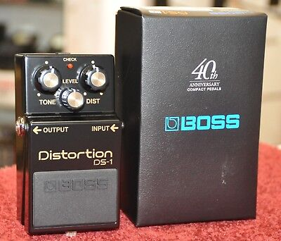 BOSS DS-1-4A Distortion Effect 40th anniversary limited edition DS-1 - Free Ship