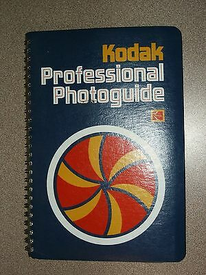 Vintage Kodak Professional Photoguide 1st Ed 1977 Manual Calculate Color Charts