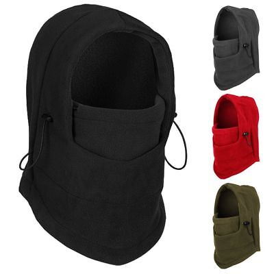 FAST Windproof Thermal Fleece Neck Warm Balaclava Ski Face Mask for Cold Weather