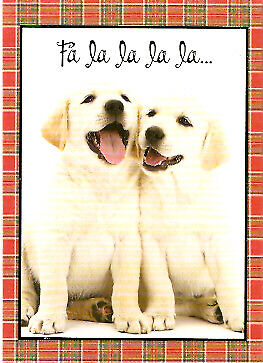 Labrador Retriever Lab FaLaLaLa Christmas Cards Box of 15