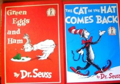 2 x Dr Seuss - The Cat In The Hat Comes Back + Green Eggs And Ha