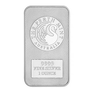 5 x 1oz Silver Kangaroo Minted bar - .9999 Purity (5 Pack)