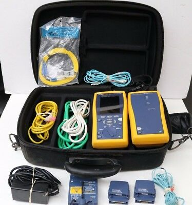 Fluke DTX-1800 Cable Analyzer With Smart Remote **FREE SHIPPING**
