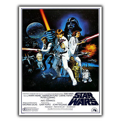 Star Wars Episode IV A New Hope - METAL WALL PLAQUE SIGN Film Movie poster