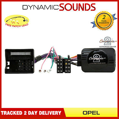 CTSOP002.2 CANBUS Steering Stalk Interface FREE PATCH Lead for Opel
