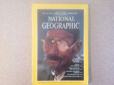 National Geographic Vol. 157, No.3, March 1980