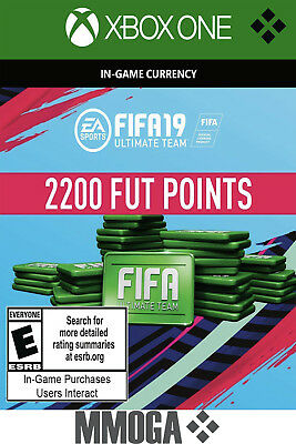 Xbox One - FIFA 18 Ultimate Team - 2200 Points Key Code - 2,200 FUT Point [EU]