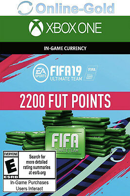 2200 FUT Points - FIFA 18 Microsoft Xbox One Key - 2.200 FIFA Ultimate Team Code