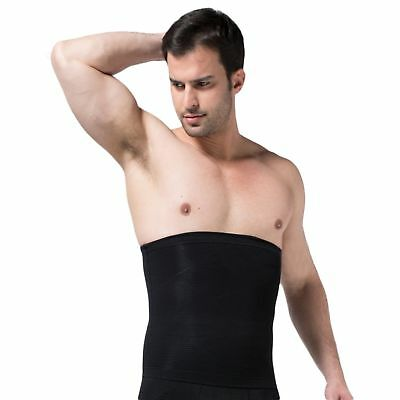 Mens Body Slimming Shaper Waist Tummy Abdomen Girdle Fitness Belt Underwear Slim