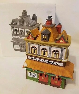 Department Dept 56 Dickens Village Theatre Royal Theater Heritage #5584-0 w/ Box