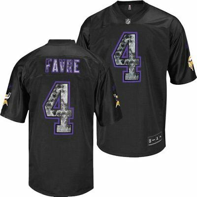 NFL Trikot MINNESOTA VIKINGS Brett Favre Football Premier Jersey black purple