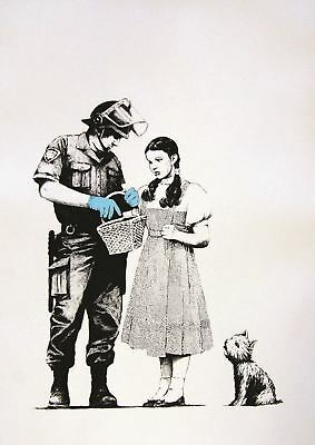Banksy Stop And Search A3 Art Print Poster Gz749