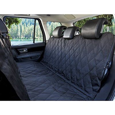 BarksBar Pet Car Seat Cover With Anchors for Cars Trucks Suvs and Vehicles