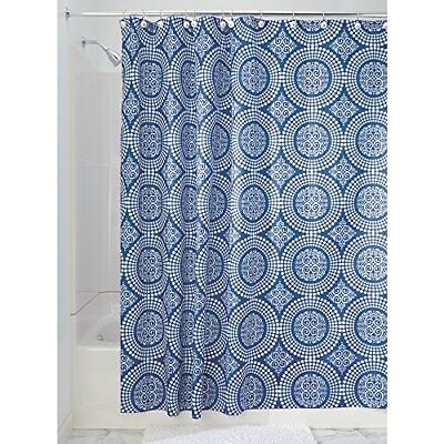 "New 54/"" x 78/"" White Waterproof Fabric Shower Curtain//Liner Stall Long Length a4"