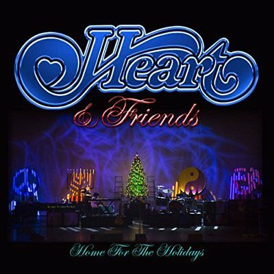 Heart & Friends - Home For The Holidays - Deluxe Edition (CD & DVD) NEW/SEALED