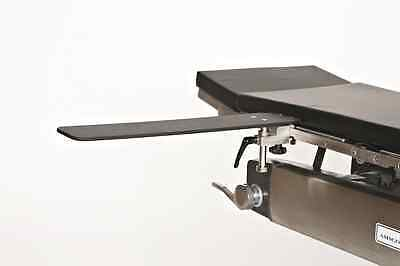 """New MCM-401 Height Adjustable Pose-Lock Radiolucent Surgical Armboard w/2"""" Pad"""