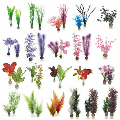 Oase Biorb Easy Plant Kelp Fern Silk Plastic Aquarium Fish Tank Decorations