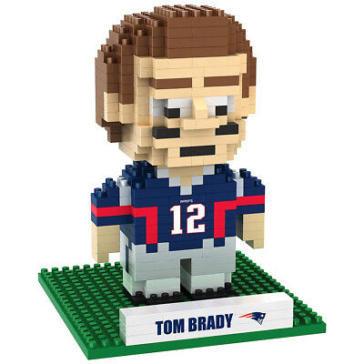 NFL New England Patriots Tom Brady 3D BRXLZ Player Puzzle Football