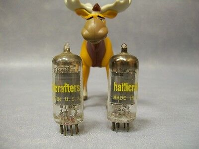 Hallicrafters 6BH6 Vacuum Tubes  Lot of 2