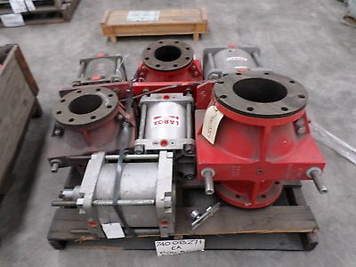 Larox air actuated pinch valve PVE150 A6-9B33UR INDUSTRIAL HYDRAULIC