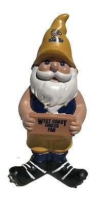 West Coast Eagles AFL Garden Christmas Gnome 2017 Edition