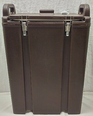 Brown Cambro Lcd-500 Lg 5 Gal Insulated Beverage Dispenser Coffee Tea Hot Cold