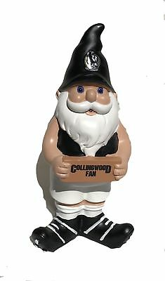 Collingwood Magpies AFL Garden Christmas Gnome 2017 Edition