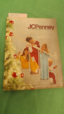 1971 JC Penney Christmas Calalog, Wish/Gift Book,Vtg Toys,Gifts,Fashion 472 Pgs