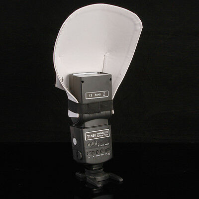 Universal Flash Bounce Diffuser Reflective Shovel For Canon Nikon Yongnuo Sony