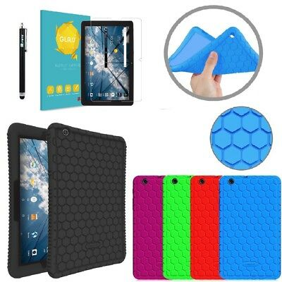 """Fintie For AT&T Primetime 10"""" 2017 / ZTE K92 Kid Shock Proof Silicone Cover Case"""