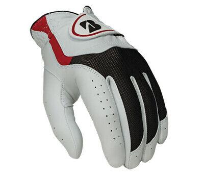 Bridgestone Mens Soft Grip Leather Hybrid Golf Glove - Left Hand