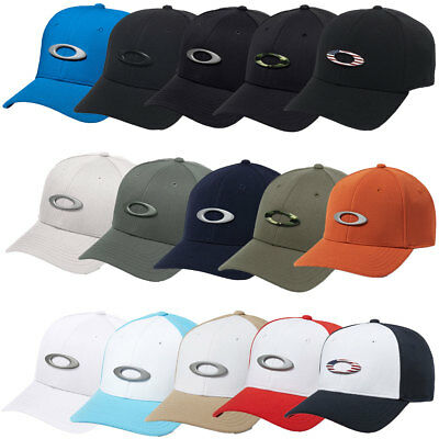 Oakley Sport 2018 Mens Tincan Cap 911545 Curved Brim Stretch Fit Hat