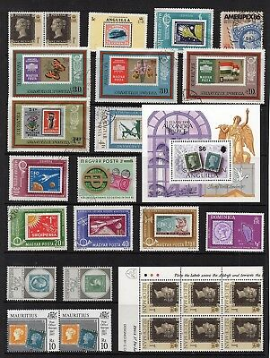 STAMP on STAMP Thematic STAMP COLLECTION Mint Used INC MINI SHEET REF:TS426
