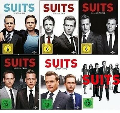 23 DVDs * SUITS - SEASON / STAFFEL 1 + 2 + 3 + 4 + 5 + 6 IM SET # NEU OVP +