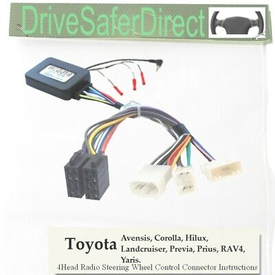 ANAlogz-SWC-7650-03 Steering Wheel Control for ISO Radio/Toyota RAV4 01-11