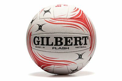 Gilbert England Flash Official Netball Training Sports Workout Ball