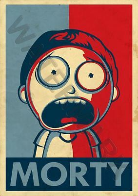 Rick And Morty Cartoon 2 A3 Art Print Photo Poster Gz6122