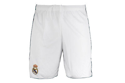 adidas Mens Real Madrid 17/18 Home Football Shorts Pants Sport Workout Training
